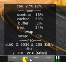 Multi-Core System Monitor